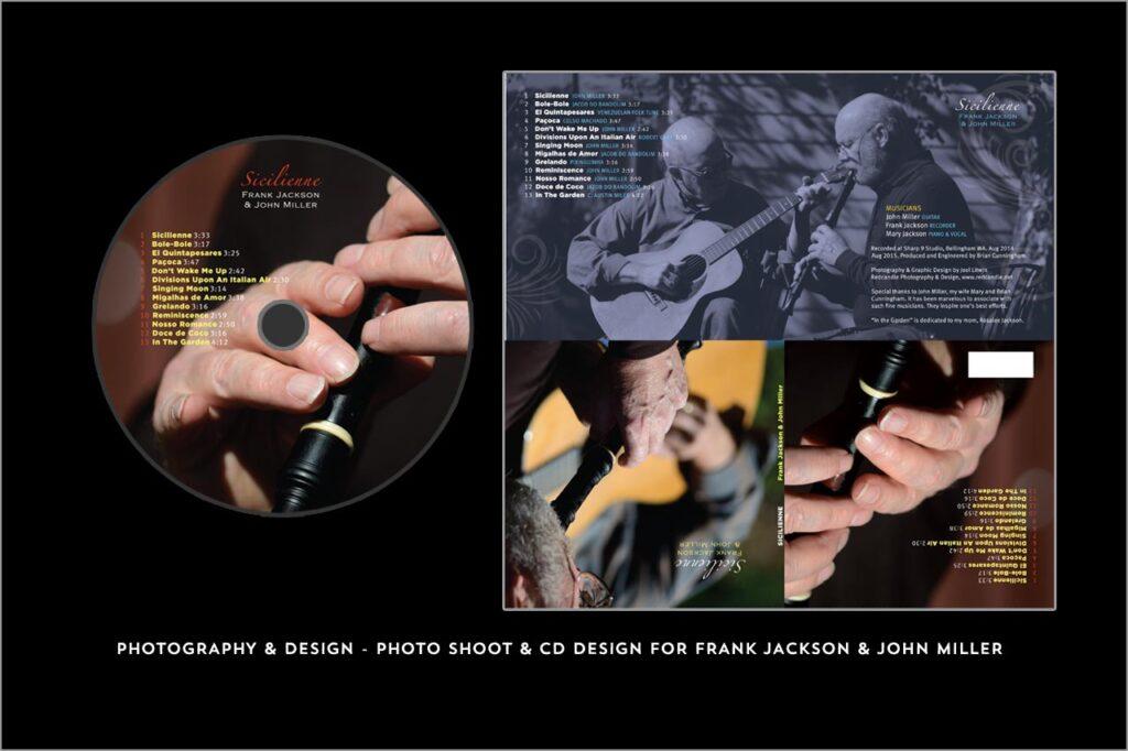 CD DVD Design - Redcandle Photography & Design